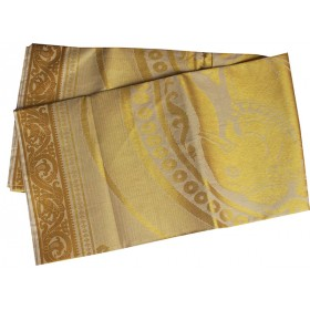 Kerala Special Full Tissue Elephant Design Kasavu Saree