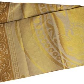 Kerala Special Full Tissue Elephant Design Kasavu Saree