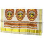 Art form Tissue Kasavu Saree