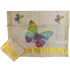 Butterfly Kasavu Mundu