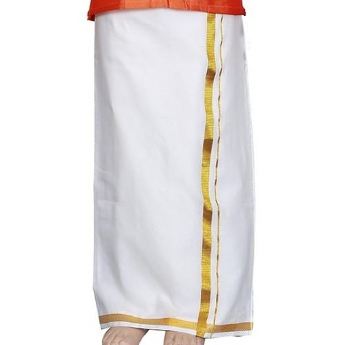 Kerala Kasavu Dhotis / Mundu for Baby Kids