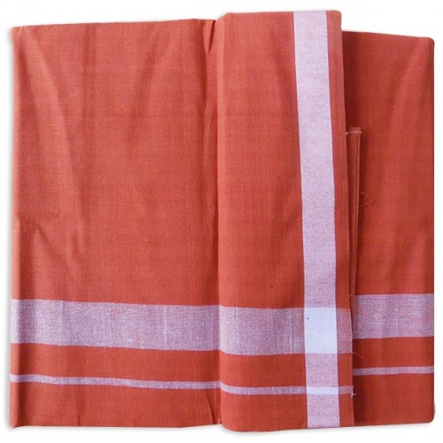 Medium Color Kavi Lungi Mundu