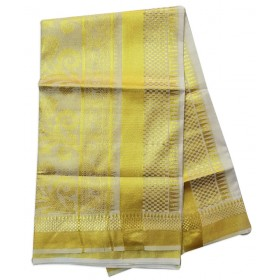 Kerala Kasavu Temple saree