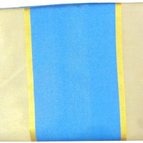 Kerala Tissue Saree Blue Border