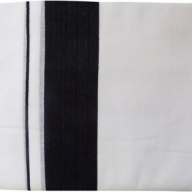 Kerala Cotton Double Mundu Black