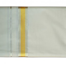 Kerala Mundu with Silver and Golden Brocade