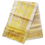 Kerala Temple Design Big Border Kasavu Saree