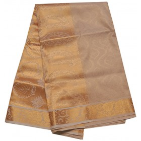 Kuthampully Traditional Full Tissue Kasavu Saree