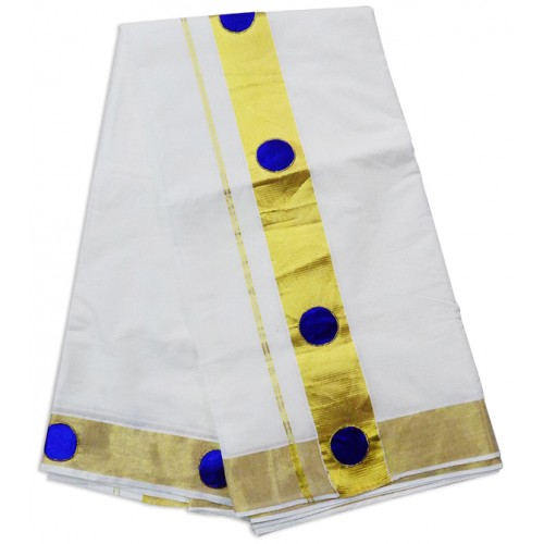 Butta Patch Kerala Saree