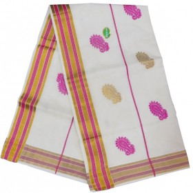 Youth Special Trendy Patch Kerala Saree