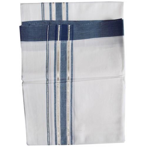 Traditional Grey Double Mundu