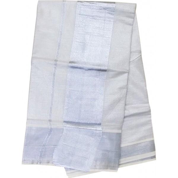 7ce5fdcadf4 Purchase Onam Special Kerala Tissue Silver Saree