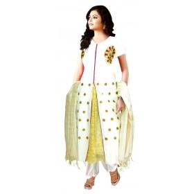 Kerala Churidar Embroidery Design