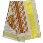 Art form Tissue Kasavu Saree