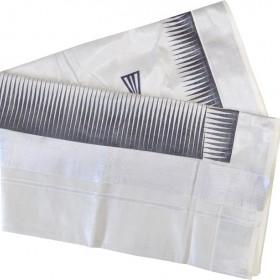 Black and Silver Combination Tissue Kerala Saree