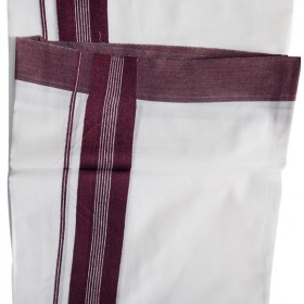 Bleach Brown Mens Dhoti