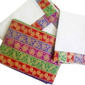 Kerala Trendy Half Saree Model Kasavu Mundu