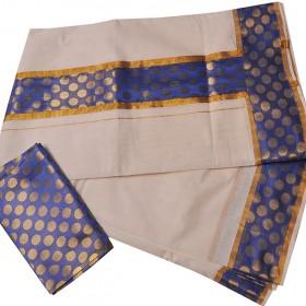 Kuthampully  Special Mayamohini Kasavu Saree