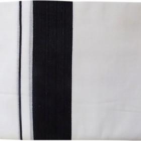 Kerala Cotton Double Mundu Black