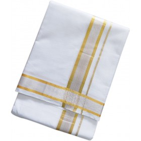 Traditional Bleach-Double Mundu