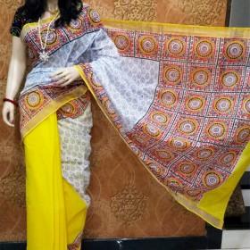 Special  Hand Painted Kerala Saree
