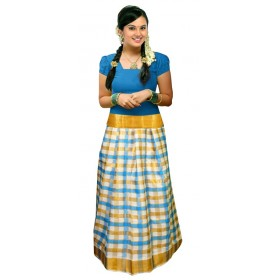 All Season Pattu Pavadai With Blouse