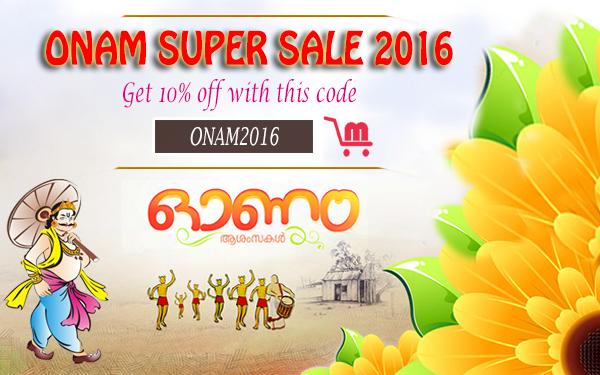 Onam offers 2016